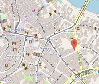 Augenzentrum Picassoplatz 8 in OpenStreetMap